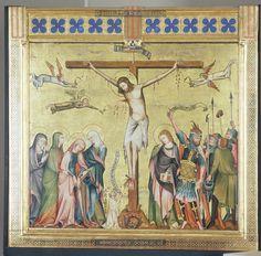Crucifixion, 1330-1331, Master of the Verdun Altar, Vienna