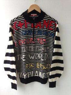Jean Charles De Castelbajac Sweater Knitwear Castelbajac Size m - Sweaters & Knitwear for Sale - Grailed