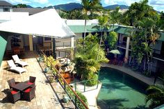 Bay Village Tropical Retreat & Apartments - Cairns from $130 p/n Enquire http://www.fnqapartments.com/accom-bay-village-cairns/ #CairnsAccommodation