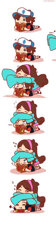 Dipper and Mabel : Os irmãos mais fofos... Não quero dizer Adeus...