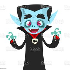 Cute cartoon vampire smiling. Vector illustration isolated - Векторная графика Вампир роялти-фри Vampire Cartoon, Cute Cartoon, Minnie Mouse, Disney Characters, Fictional Characters, Illustration, Illustrations, Fantasy Characters, Cute Comics