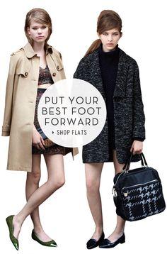 Put your best foot forward - Shop Flats topshop