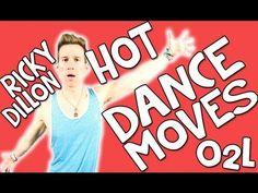 20 HOT DANCE MOVES | RICKY DILLON