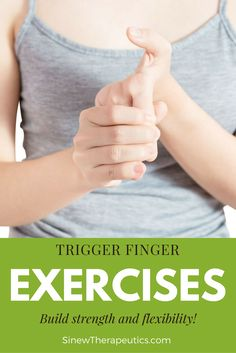 These exercises are ideal to build finger strength and flexibility especially when used alongside the Sinew Therapeutics liniments and soaks. Exercise For Rheumatoid Arthritis, Arthritis Exercises, Arthritis Pain Relief, Trigger Finger Exercises, Finger Stretches, Trigger Finger Treatment, Jammed Finger, Finger Strength, Hand Therapy