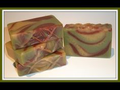 Soap making using natural colourants - YouTube
