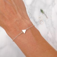 """Still love triangles over here @baytreeboutique!  #in love #triangle #triangles #bracelet…"""""""