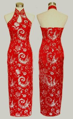 Chinese Cheongsam / Qipao ,Chinese wedding dress