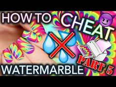 How to CHEAT at Watermarble nails - PART #5   Mani Swap w/ Yagala! - YouTube