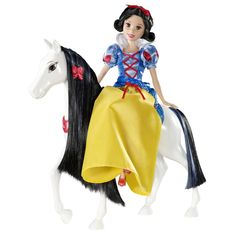 Hot Disney Princess Snow White | Disney Princess SPARKLING PRINCESS® Snow White Doll and Royal Horse ...