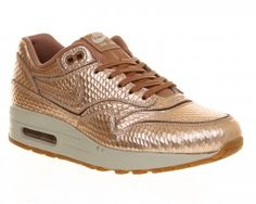 best sneakers 9b6e9 8d830 cheap nike outlet Nike Air Max 1 (l) Metallic Bronze Cut Out - Hers  trainers 2014 nike cheap online
