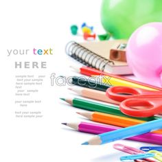 Color stationery picture 4 PSD