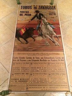 Spanish Bull Fighting Poster 1970