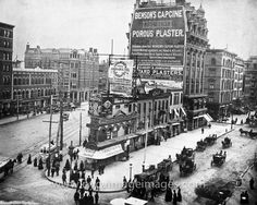 Extensive collection of rare and old pictures of New York. Historic New York City and Vintage New York Photos. New York Pictures, New York Photos, Old Pictures, Old Photos, Vintage Photos, Vintage New York, New York City Manhattan, Broadway Nyc, Flatiron Building