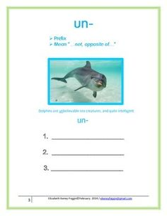This is a great multisensory lesson based on the principles of Orton Gillingham, for use in a class, small group or individually. Students with an interest in marine biology find this multisensory and multiple lesson packet highly motivating.Page 1/2- Title and informational pagePage 3 - Multisensory introductory lessonPages 4/5 - Basic and higher level word listsPage 6- Controlled reading - sentences Page 7 - Writing ActivityPages 8/9 - Reading passage with questionsPage 10 - Assignment…