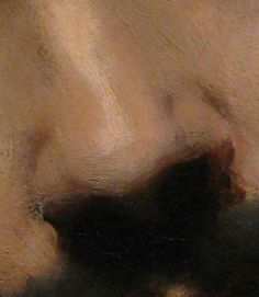 No hard edges - John Singer Sargent's portrait of Carolus Duran (detail)