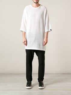 db6a6458efc44 Y-3 Long T-shirt - Idrisi - Farfetch.com Vogue Men