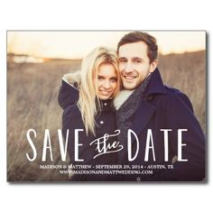 Whimsy | Save the Date Postcard