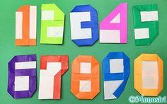 このページでは折り紙で「数字」の折り方を紹介しています。 0 1 2 3 4 5 6 7 8 9 までの数字を組み合わせることで、誕生日や年号など、他にも発想次第でいろいろな活用...