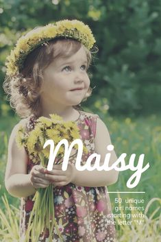 "50 UNIQUE Baby Girl Names Starting with ""M"" unique baby girl . 50 UNIQUE Baby Girl Names Starting with ""M"" unique baby girl names starting with m, rare, italian, vintag Baby Girl Names Uncommon, Twin Baby Names, Beautiful Baby Girl Names, Baby Girl Names Unique, Names Girl, Cute Baby Names, Pretty Names, Popular Baby Names, Beautiful Babies"