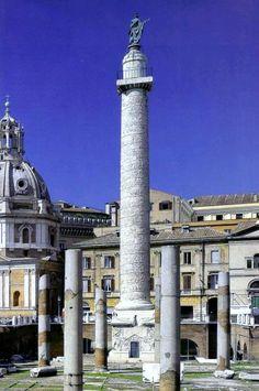 Columna de Trajano. Roma Italia
