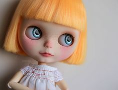 Custom commission for Corinne.  Base doll: Simply Mango