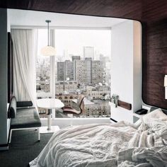 12 Unbelievably Seductive Beds To Crash In This Weekend #refinery29  http://www.refinery29.com/new-york-comfy-beds-instagram-pictures#slide-7  A morning at The Standard is anything but ordinary.