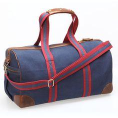 Tasche Weekender Blau-Rot