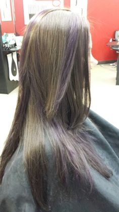 Purple Fashion  Little Red's Cut & Dye Salon LLC 609-A south main st Sapulpa ok 9189029479