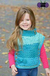 Kineo Pullover #crochetpattern by Blackstone Designs