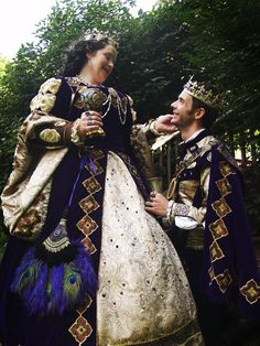 King and Queen at Kansas City Renfest