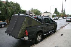 tonneau tent