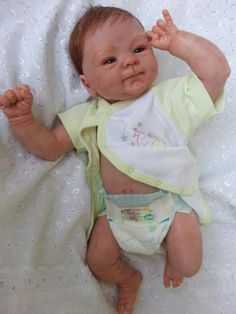 Reborn baby doll Charlotte - kit Coco Malu by Eliza Marx SOLD OUT. $480.00, via Etsy.