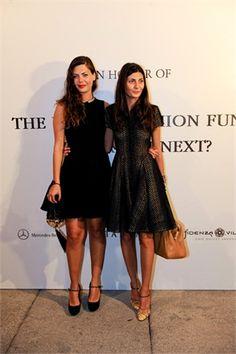 Sara and Giovanna Battaglia
