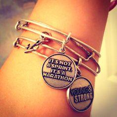 Love my Alex & Ani bracelets