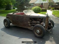 1932 Ford Roadster Rat Rod Hot Rod Scta Other photo