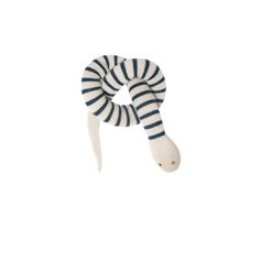 I don't like snakes unless they're cute, striped knitted soft toys like this one!