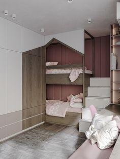 Room Design Bedroom, Kids Bedroom Designs, Home Room Design, Room Ideas Bedroom, Kids Room Design, Bedroom Decor, Sister Bedroom, Cool Kids Bedrooms, Attic Bedrooms