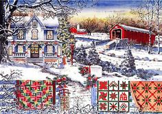 Diane Phalen Art Gallery - Country Christmas
