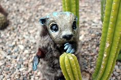 Otter - fantastic creature by SalSusan on Etsy
