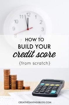 If you ever see yourself borrowing money down the road -- whether it's for a home, car, or business -- you'll want to have a credit score that is squeaky clean. Here's how to build your credit score from the ground up, especially when you have little or none to start!