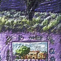 "Exclusive: "" Lavender of Provence Wonderful eternal France "" / My Creations Artistic Sculpture Relief fact Main 25  (c)(h) by Olao-Olavia / Okaio Créations"