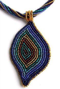 Beaded necklace                                                                                                                                                                                 Mais
