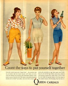 vintage everyday: Fashion Advertisements in 1960 from Seventeen Magazine
