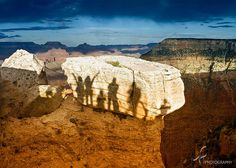 Casting shadows at the Grand Canyon by imago2007