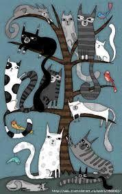 Картинки по запросу смешные коты рисунки