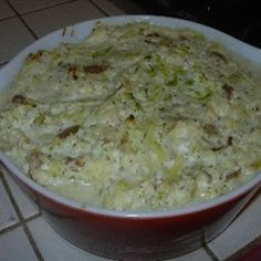 Solyanka-It came from the original Moosewood cookbook. Cabbage, cottage cheese  and potato casserole