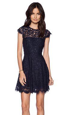 BB Dakota Rylin Lace Dress in Oilslick