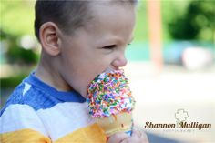 Ice Cream Mini Session - Shannon Mulligan Photography