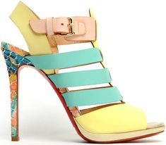 Christian Louboutin's Spectacular Designs for Spring/Summer