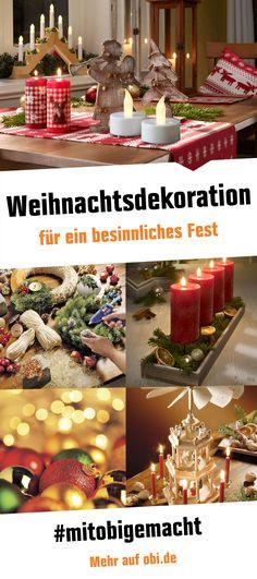 Die Weihnachtszeit hat begonnen - ist dein Zuhause bereits besinnlich geschmückt?  #weihnachten #weihnachtsdekoration #dekoration #adventszeit #mitobigemacht #diy #baumarkt